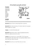 El Muchacho Que Grito Lobo (Spanish Reader's Theater) - 11 PARTS