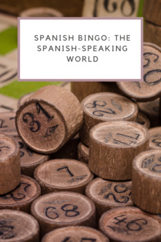 El Mundo Hispanohablante Bingo
