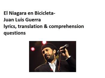 El Niagara en Bicicleta --  Juan Luis Guerra