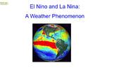 El Nino and La Nina flipchart