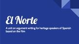 El Norte Argumentative Writing Unit