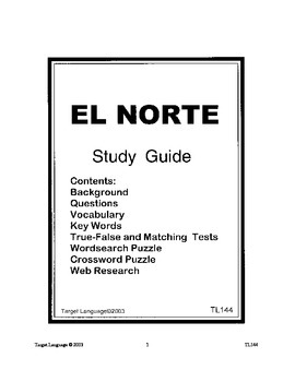 El Norte-Spanish Study Guide