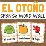 El Otoño SPANISH Fall Vocabulary Word Wall