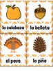 El Otoño SPANISH Fall Vocabulary Word Wall