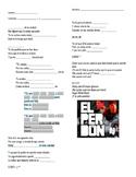 El Perdón Cloze Activity- Enrique Iglesias & Nicky Jam