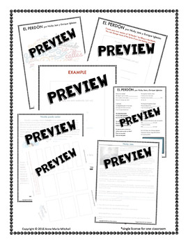 El Perdón by Nicky Jam 6-day Activity Packet