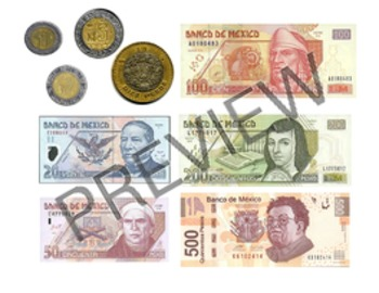 El Peso de Mexico: Mexican coins & bills