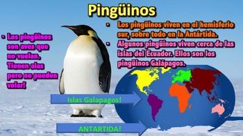 El Pingüino - Presentación en PowerPoint y Actividades