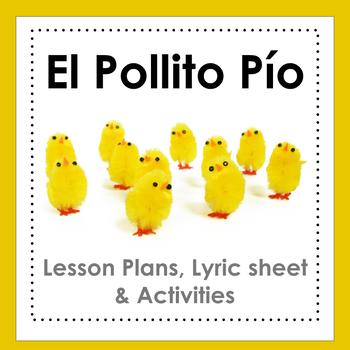 El Pollito Pío - song, video and activities
