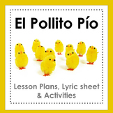 El Pollito Pío - song, video and activities