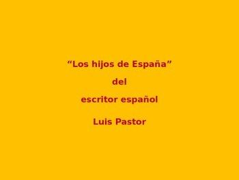 El PowerPoint: Análisis de la canción: Los hijos de España