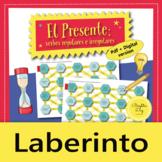 El Presente, Spanish present tense – Maze Practice Activity with Digital Version