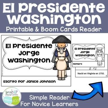 El Presidente Washington Spanish Reader & Timeline {Presid