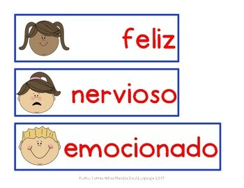 """El Primer Día de Escuela (Mini lesson for the book """"¡Qué Nervios!"""")"""