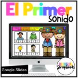 El Primer Sonido - Beginning Sounds Distance Learning in Spanish