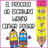 El Proceso de Escritura Poster Writing Process Poster in Spanish