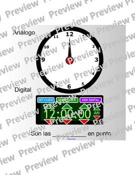 Clock Smart Board (Spanish)
