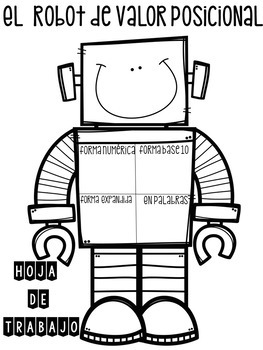 El Robot de Valor Posicional / The Place Value Robot