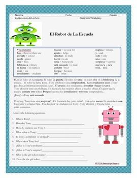 El Robot en la Escuela