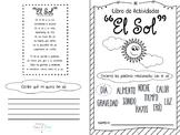 El SOL Booklet imprimible en Español. Ciencias, vocabulari