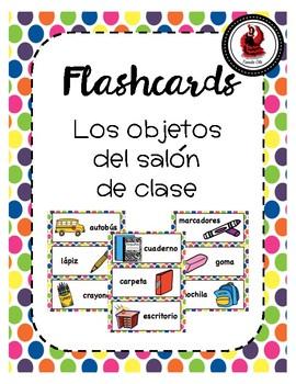 El Salon de Clase Flash Cards