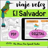 El Salvador Comprehensible Spanish Reading all about EL SA