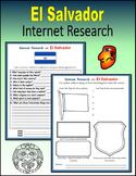 El Salvador (Internet Research) - Print + Digital Activity