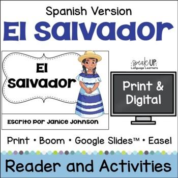 El Salvador Reader {en español} & Vocab pages ~ Simplified for Language Learners