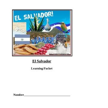 El Salvador Student Learning Packet