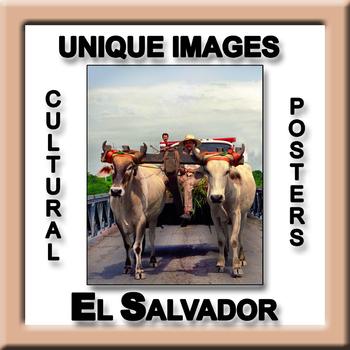 El Salvador in Photos Poster - Vertical
