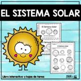 El Sistema Solar - Spanish Emergent Reader and Worksheets