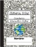El Sistema Solar Cuaderno Digital: Bilingual Solar System for Google®