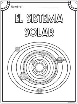 el sistema solar páginas para colorear by educaclipart tpt