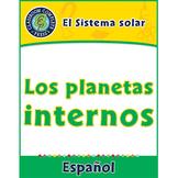 El Sistema solar: Los planetas internos