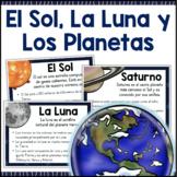 El Sol, La Luna y Los Planetas Carteles SPANISH Posters Su