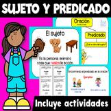 El Sujeto y Predicado Actividades - Subject and Predicate