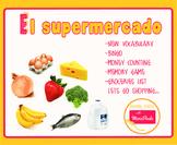 Montessori El Supermercado - la comida