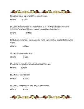 El  Sur por Jorge Luis Borges (examen)