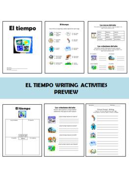 El Tiempo Bundle PowerPoint and Activity Packet
