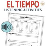 El Tiempo Weather Listening Activity