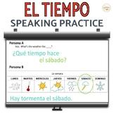 El Tiempo Weather Speaking Activity