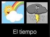 El Tiempo - Spanish Weather Week Unit