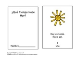 El Tiempo-The Weather Small Book in Spanish and English