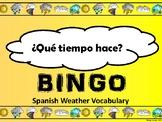 El Tiempo-Weather Bingo in Spanish