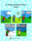 El Tiempo Weather Bulletin Board Printable Spanish Resources