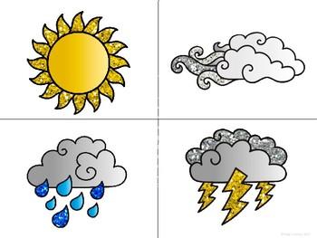 El Tiempo-Weather Vocabulary Word Wall in Spanish