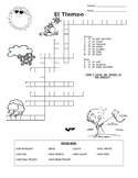 El Tiempo Wordsearch and Crossword