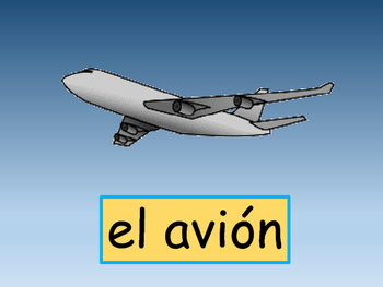 El Transporte- Transportation Vocabulary in Spanish- Activity Packet