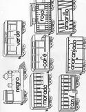 Train- El Tren -Review Colors in Spanish- Polar Express- Christmas
