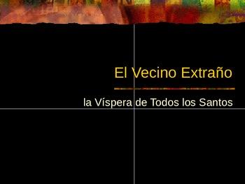 El Vecino Extrano-Spanish Halloween Story